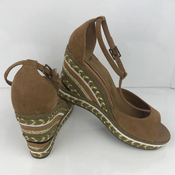 5cfbbf0d2d7 bata Shoes - Bata ankle strap peep toe colorful wedges shoes 37